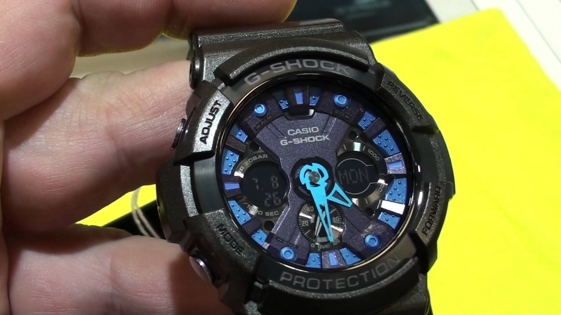CASIO G-shock GA-100-1A2ER.