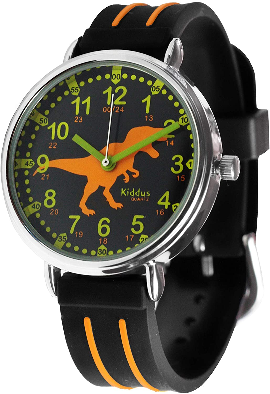 Reloj de niños con T-Rex de KIDDUS