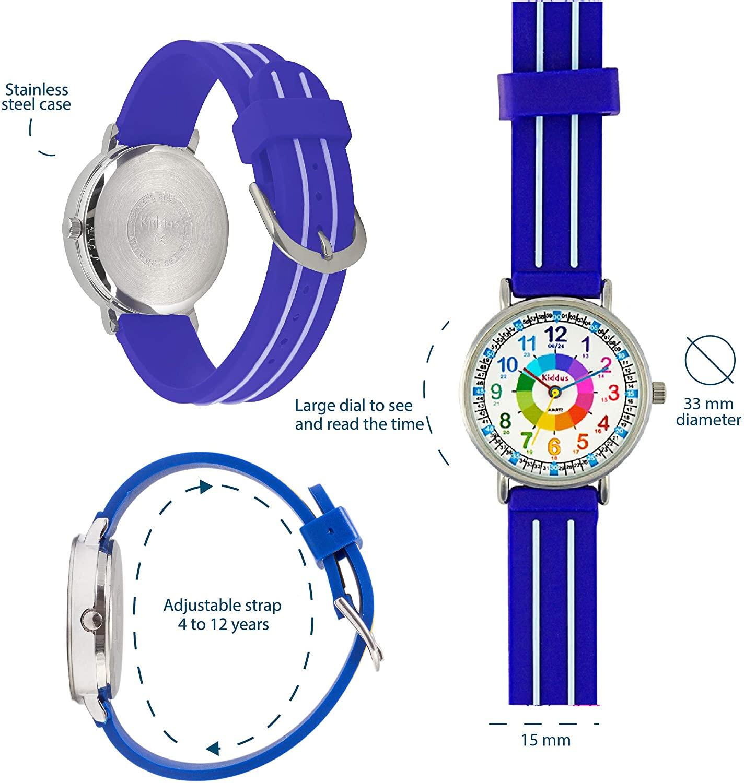Dibujos de relojes para niños KI10307 de KIDDUS